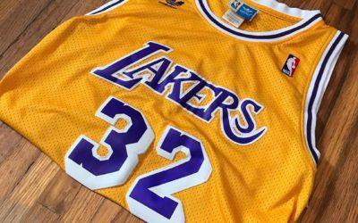 Los Angeles Lakers : le maillot le plus emblématique de la NBA