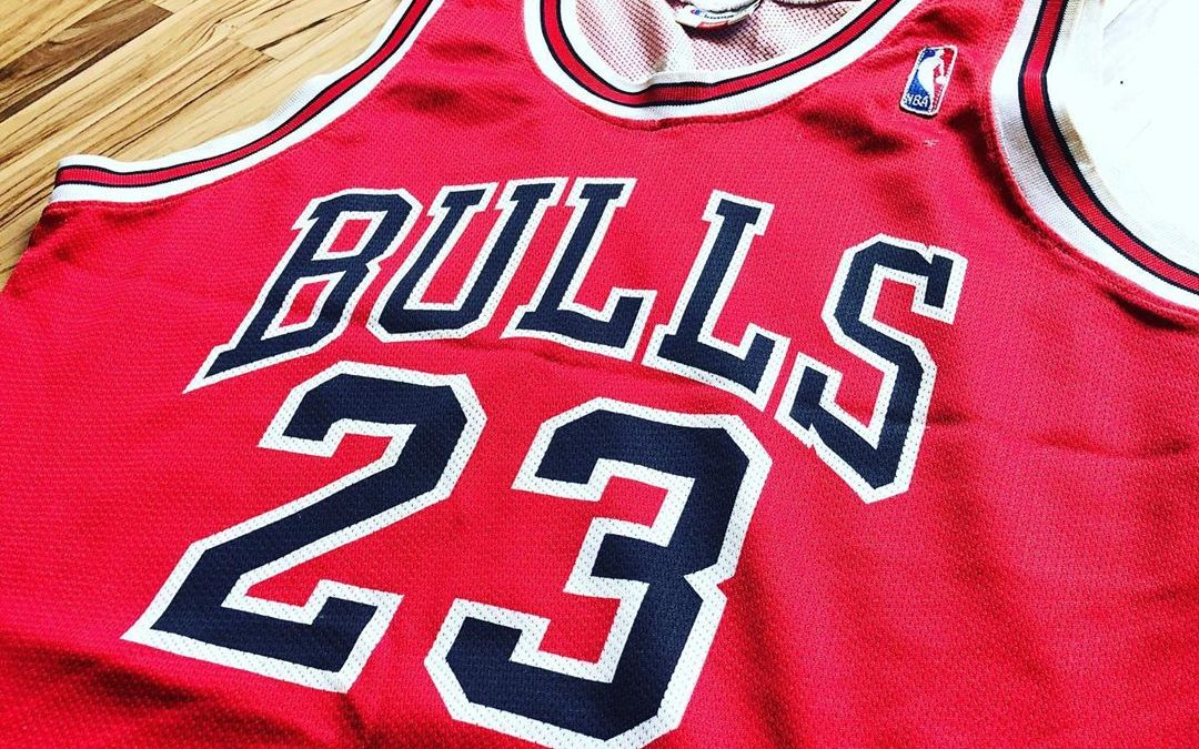 Chicago Bulls : le maillot mythique de Michael Jordan