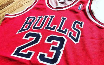 Chicago Bulls : le maillot mythique de Michael Jordan