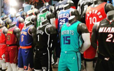 Explications des différentes catégories et versions de maillots NBA en vente
