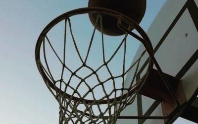 Paniers de basket sur pied à sceller